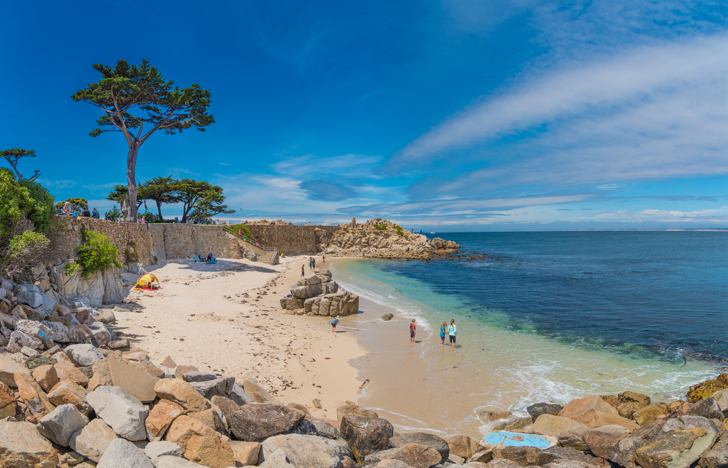 Point Beach In Pacific Grove California Is One Of Monterey Peninsula S Most Talked About Gems For Years People Have Been Popping The Question