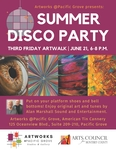 ArtWorks Summer Disco Party!