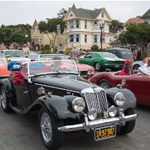 Pacific Grove Concours Auto Rally