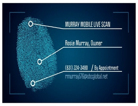 Murray Mobile Live Scan & Notary Services